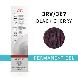 Black Cherry Color Charm Gel Permanent Hair Color