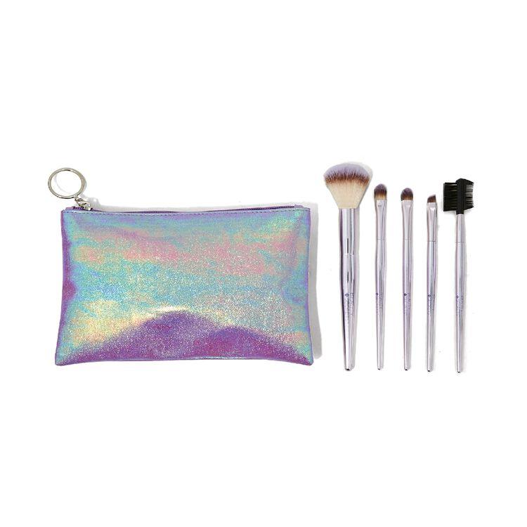 5 Piece Travel Cosmetic Brush Set