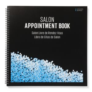 Large 6-Column Salon Appointment Book