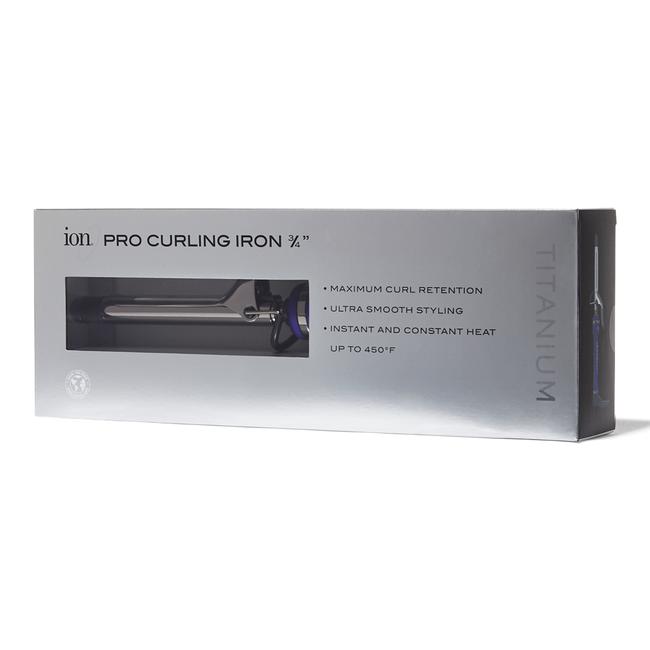 Titanium Pro 3/4 Inch Curling Iron