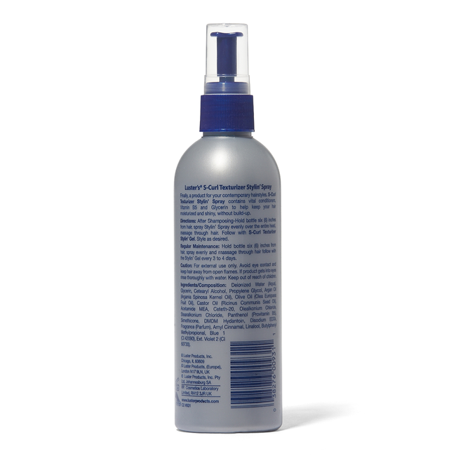 S Curl Texturizer Stylin Spray