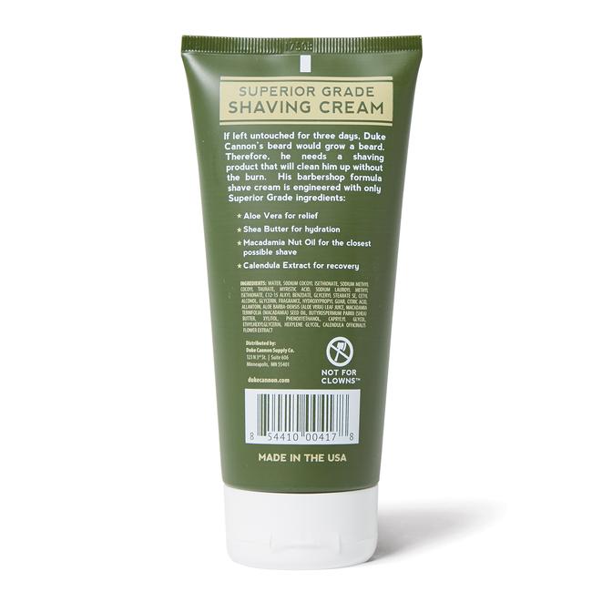 Superior Grade Shave Cream