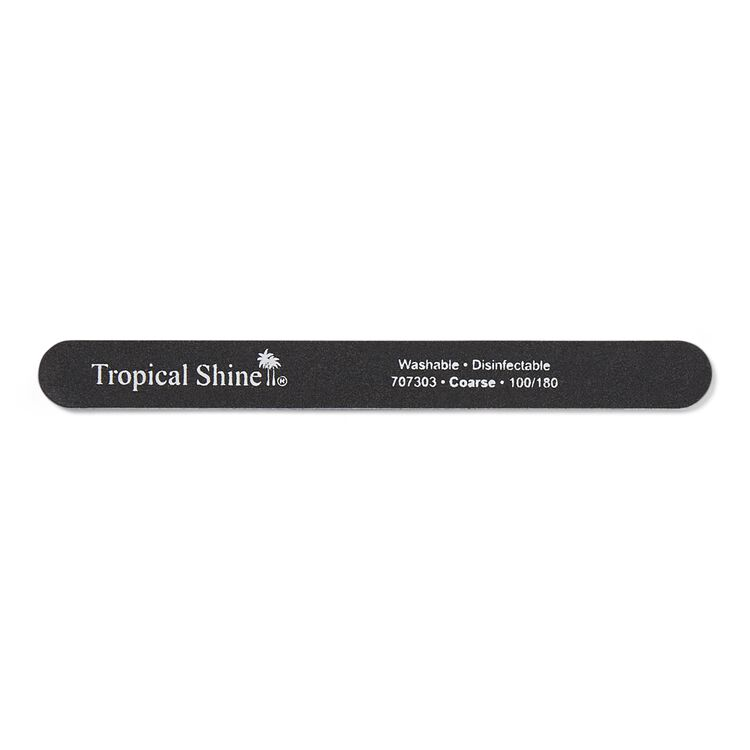 Black Cushion Nail File Coarse 100/180