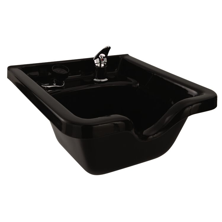 Square ABS Plastic Shampoo Bowl