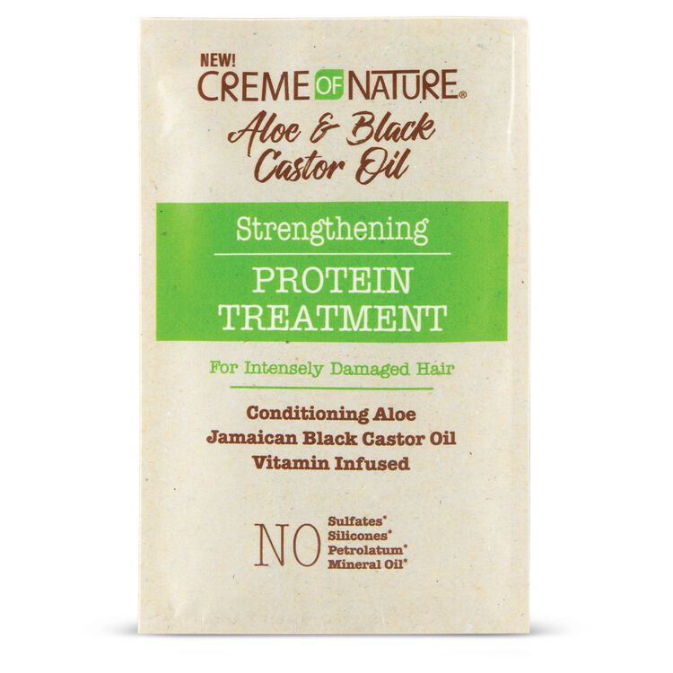 Aloe & Black Castor Oil Strengthening Protein Treatment