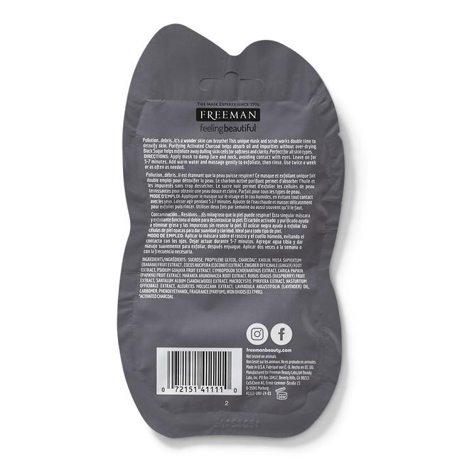 Charcoal & Black Sugar Polishing Mask