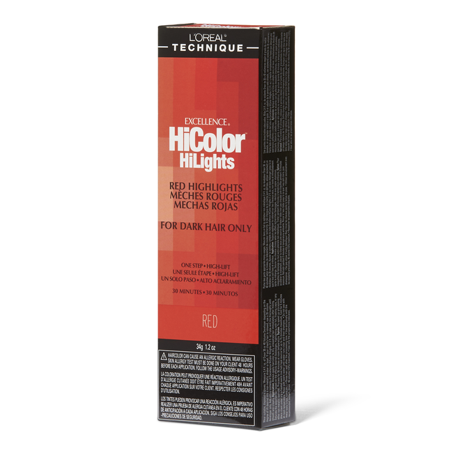 HiColor Red HiLights Red Permanent Creme Hair Color