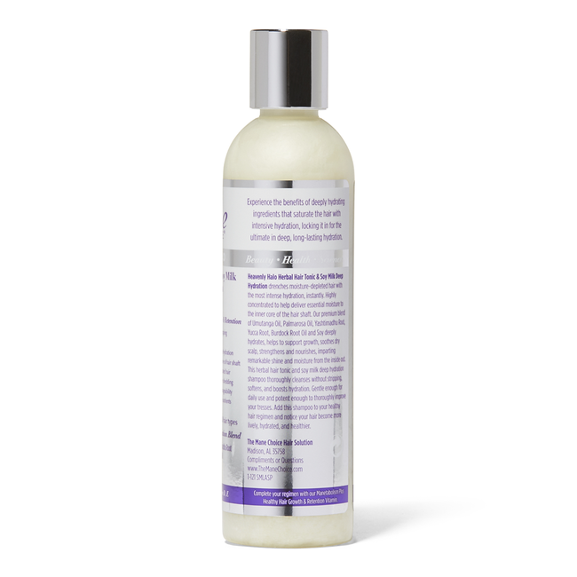 Heavenly Halo Herbal Hair Tonic & Soy Milk Deep Hydration Shampoo