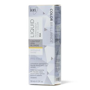 10A Lightest Ash Blonde Permanent Liquid Hair Color