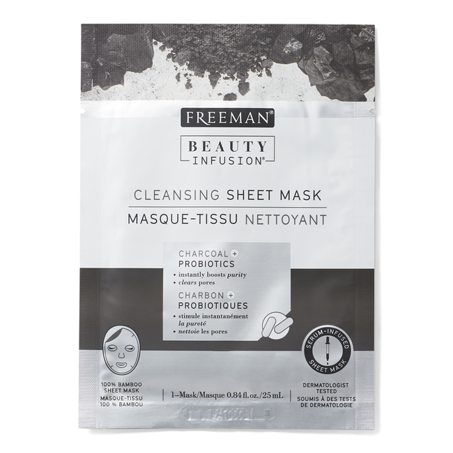 Cleansing Charcoal & Probiotics Sheet Mask