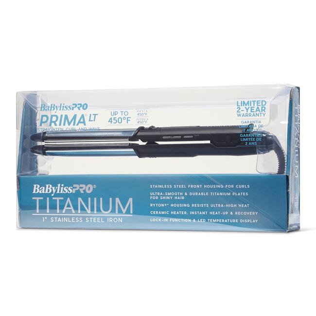 Prima Titanium Flat Iron 1 Inch