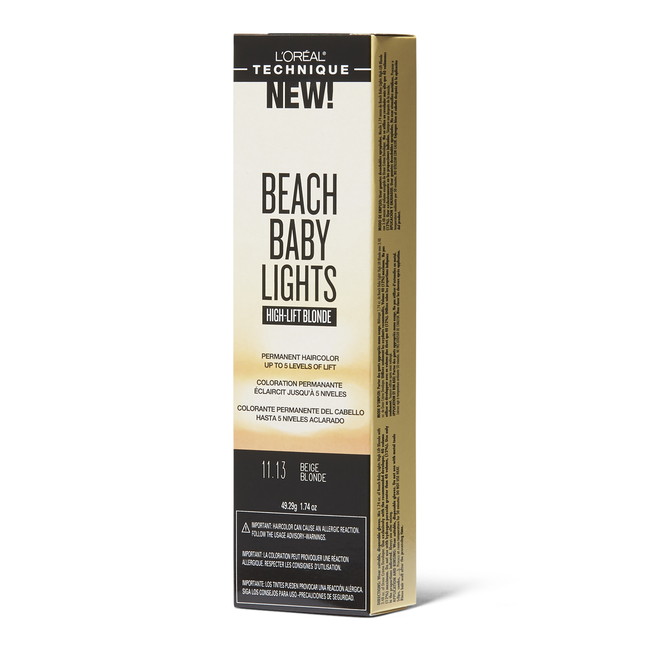 Beach Baby Light High-Lift Beige Blonde