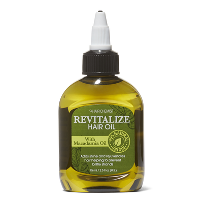 Revitalize Hair Oil with Macadamia