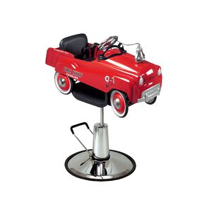 Kid's Fire Truck Hydraulic Styling Chair