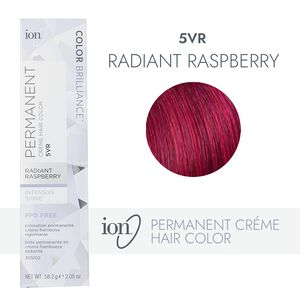 5VR Radiant Raspberry Permanent Creme Hair Color