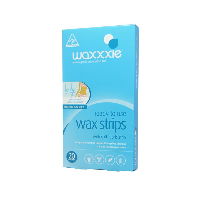 Ready to Use Sensitive Wax Strips for Body