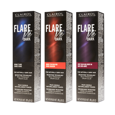 FLARE Me Dark Permanent Cream Color