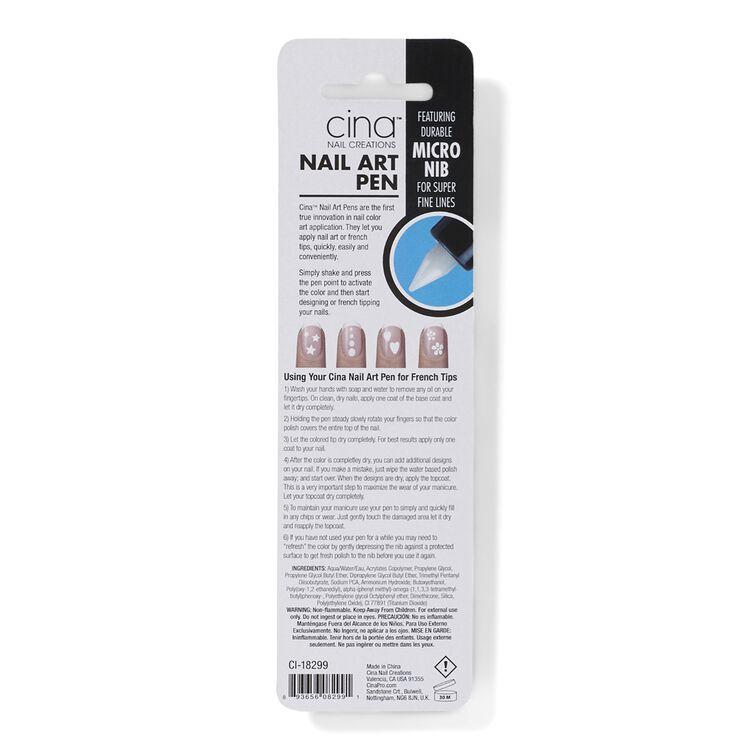 White Nail Art Pen