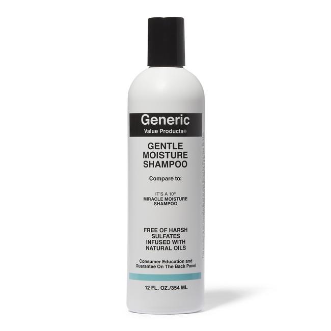 Gentle Moisture Shampoo Compare to It's a 10 Miracle Moisture Shampoo