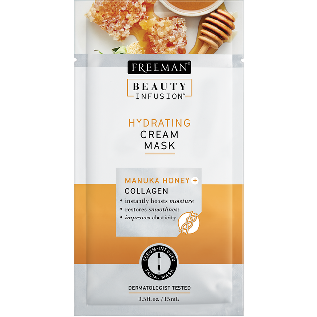 Hydrating Manuka Honey & Collagen Cream Mask Sachet