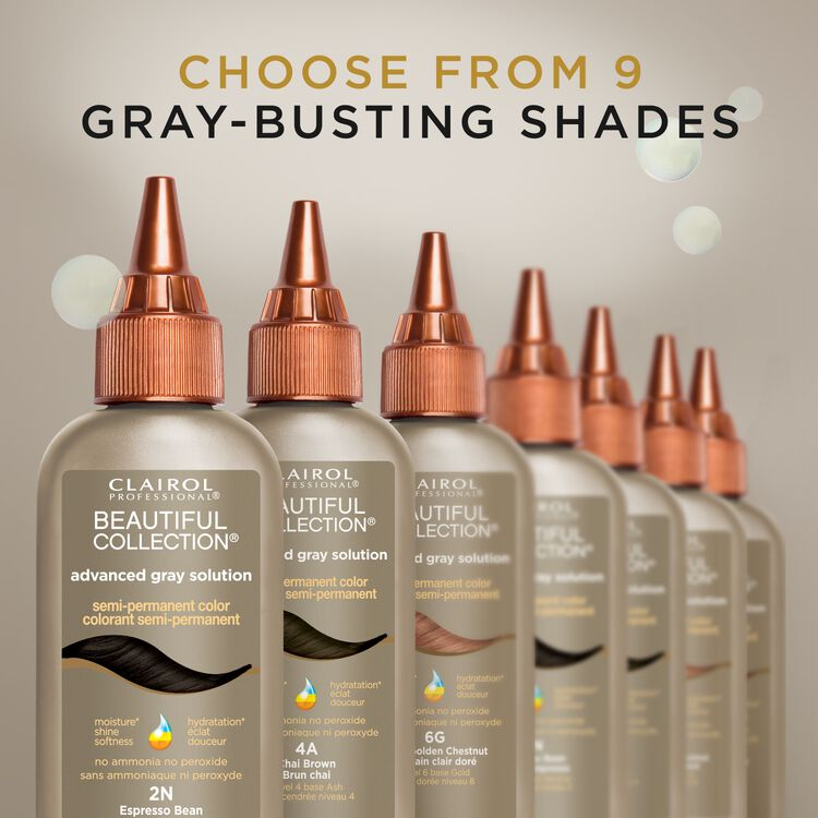 Advanced Gray Solutions Semi Permanent Hair Color