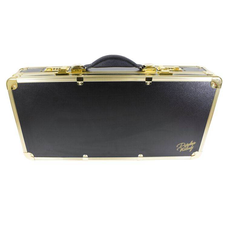 Black & Gold Barber Case