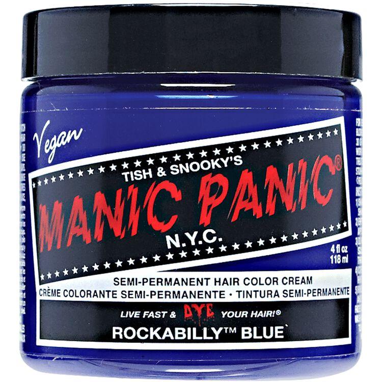 Rockabilly Blue Semi Permanent Cream Hair Color