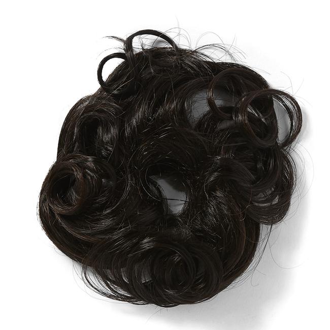 Swirlz Dark Brown Ponytail  Hair Piece