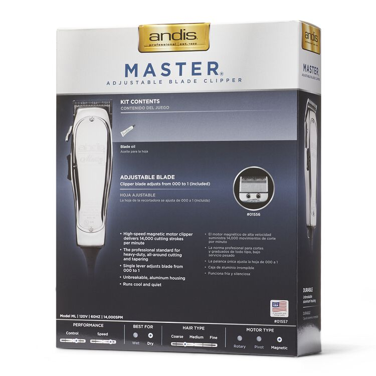 Master Adjustable Blade Clipper