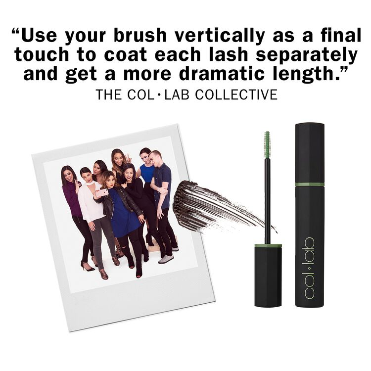 High-Rise Insane Length Mascara Black Brown