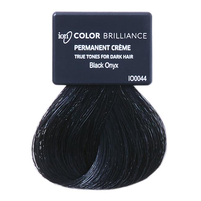 True Tones for Dark Hair Permanent Crème Hair Color Black Onyx