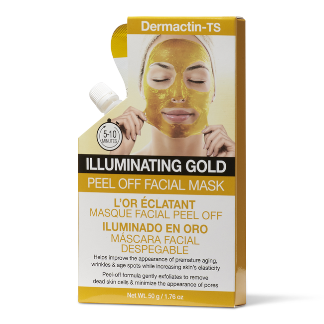 Peel Off Facial Mask Illuminating Gold