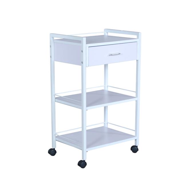 Fai Single Drawer with two Shelf Cart