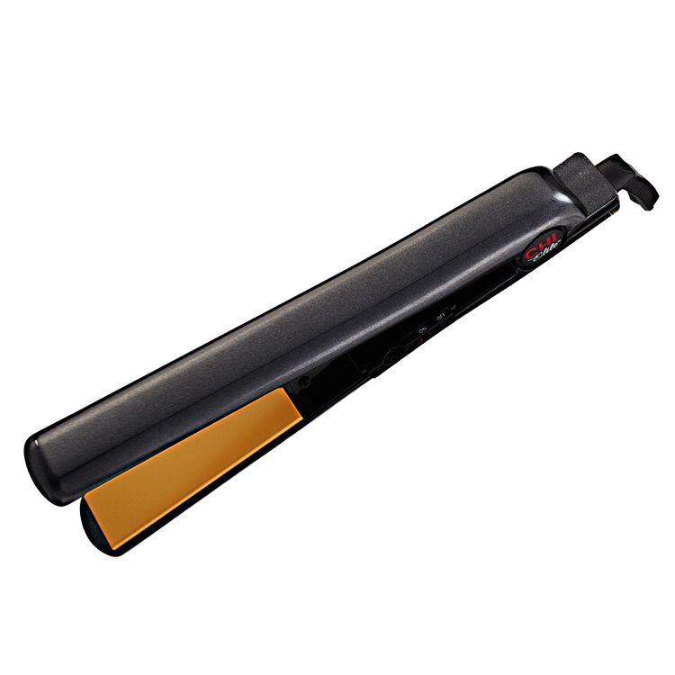 Elite Shimmer Black Flat Iron