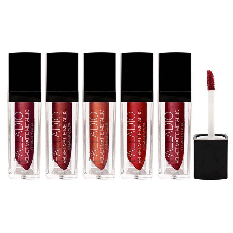 Velvet Matte Metallic Cream Lip Color