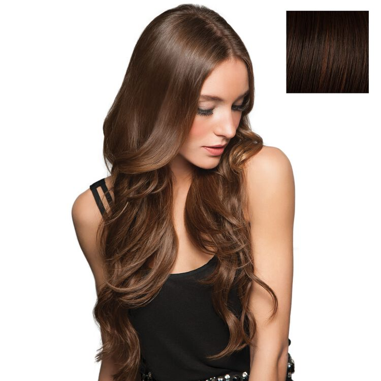 20 Inch Invisible Extension Chocolate Copper