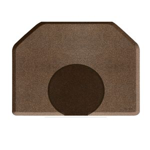 4 X 5 Granite Copper Mat with Chair Depression