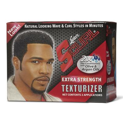 S Curl Extra Strength Texturizer Kit