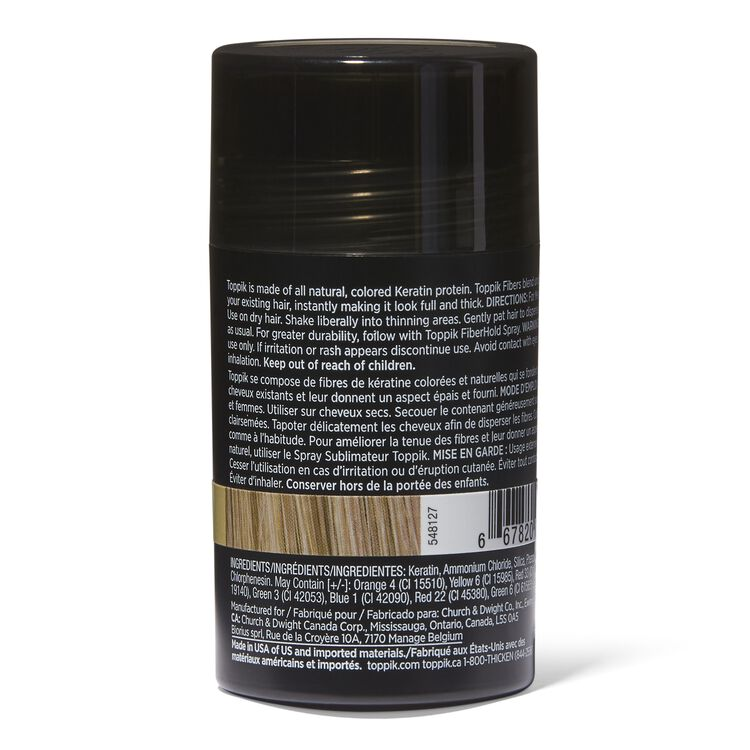 Medium Blonde Hair Building Fibers