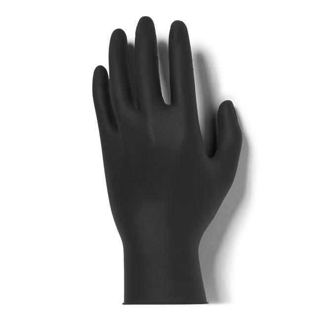 Medium Black Nitrile Gloves