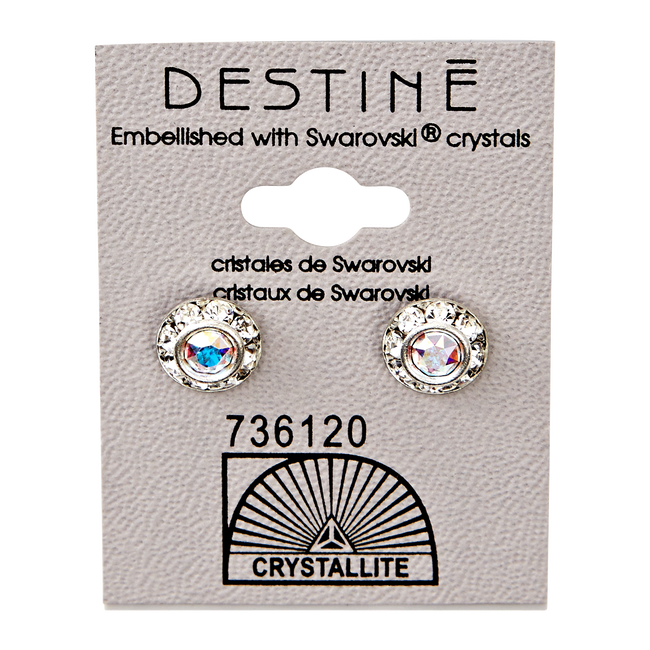Destine 9mm Diamond Cut Earrings