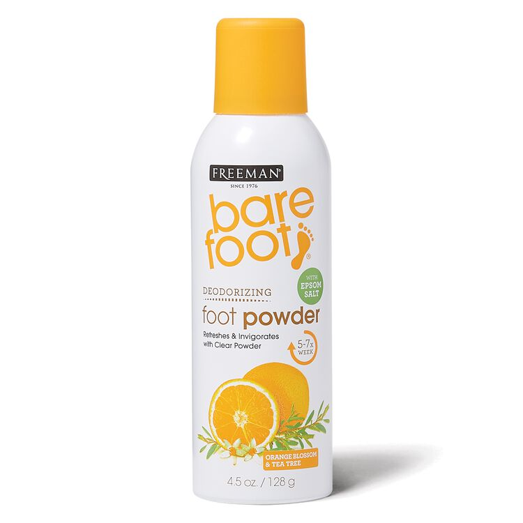 Orange Blossom & Tea Tree Deodorizing Foot Powder