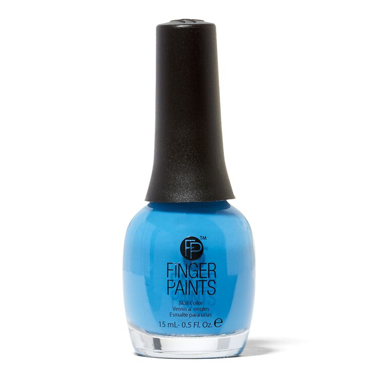 Inkblot Blue Nail Color