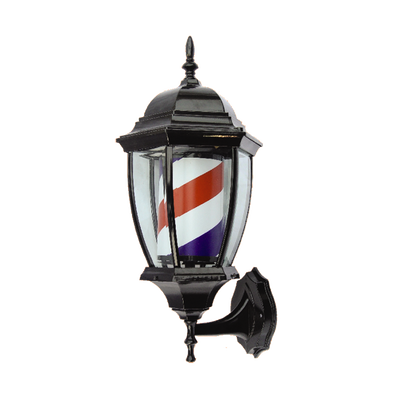 Porch Light Barber Pole