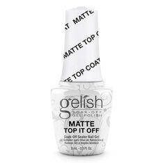 MINI Soak-Off Gel Nail Polish Matte Top It Off