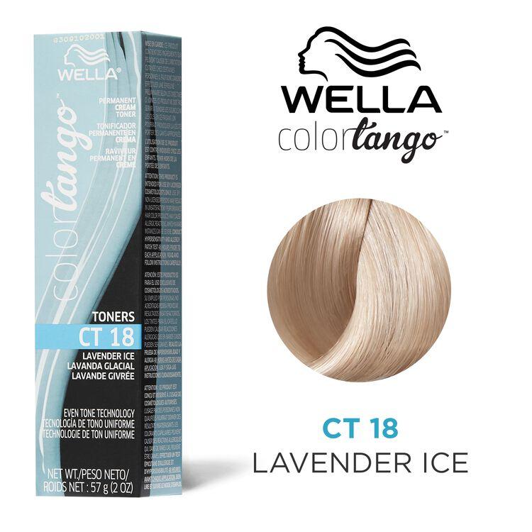 Lavender Ice Permanent Cream Toner