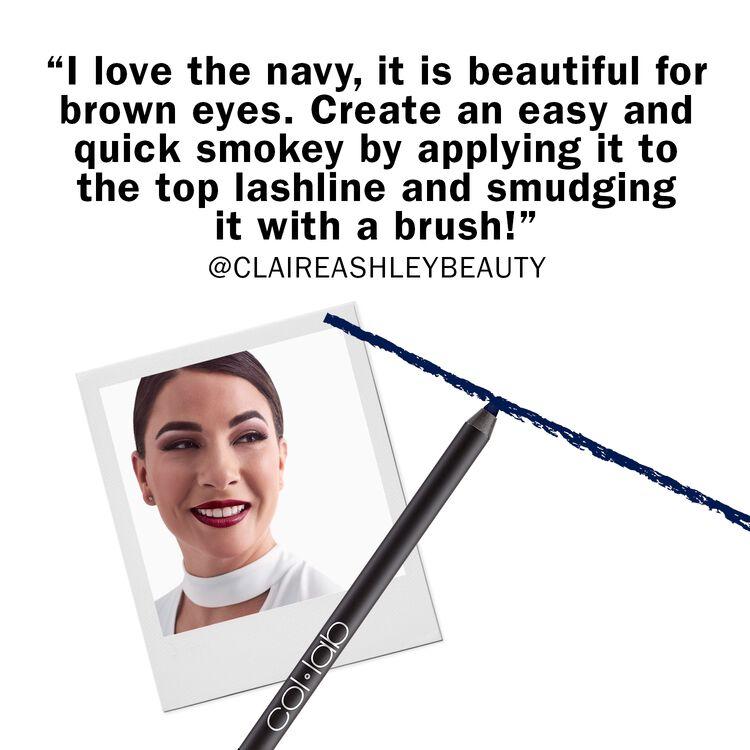 Bold-Faced Liner Waterproof Eye Lining Pencil Fearless