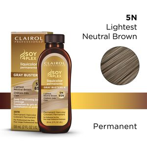 5N/85N Lightest Neutral Brown LiquiColor Permanent Hair Color