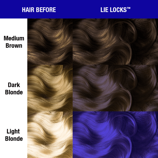 Lie Locks Semi Permanent Cream Hair Color