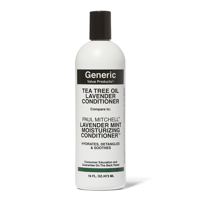 Tea Tree Oil Lavender Conditioner Compare to Paul Mitchell Lavender Mint Moisturizing Conditioner 16 oz